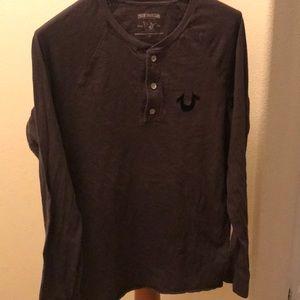 True Religion Long Sleeve shirt